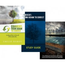BUNDLE!!! Convert Book, Convert Study Guide, Before God Book